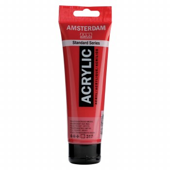 Amsterdam Standard Acrylics, 120ml, Transparent Red Medium