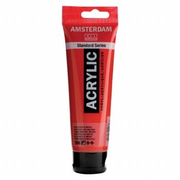 Amsterdam Standard Acrylics, 120ml, Naphthol Red Medium