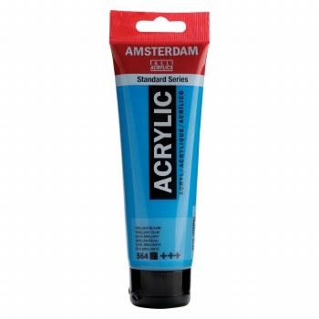 Amsterdam Standard Acrylics, 120ml, Brilliant Blue