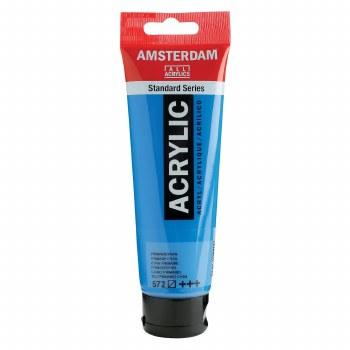 Amsterdam Standard Acrylics, 120ml, Primary Cyan
