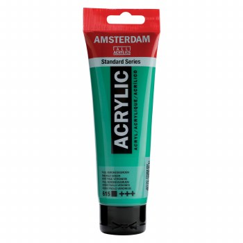 Amsterdam Acrylics, 120ml, Emerald Green