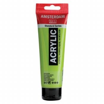 Amsterdam Standard Acrylics, 120ml, Yellowish Green