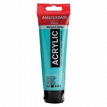Amsterdam Standard Acrylics, 120ml, Turquoise Green