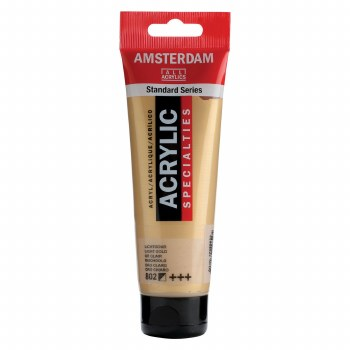 Amsterdam Standard Acrylics, 120ml, Metallic Light Gold