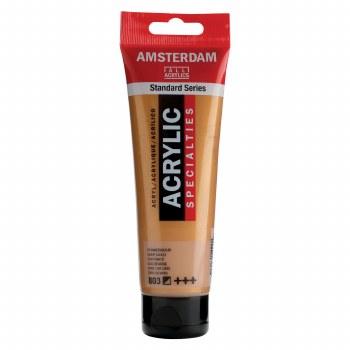 Amsterdam Standard Acrylics, 120ml, Metallic Deep Gold