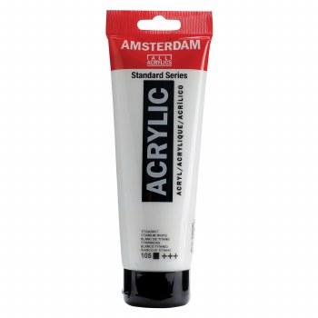 Amsterdam Standard Acrylics, 250ml, Titanium White