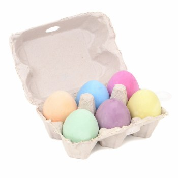 Egg Chalk 6-Color Set, Egg Chalk - 6/Pkg.