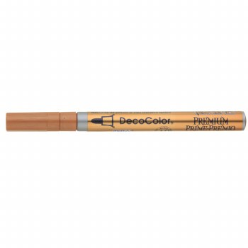 DecoColor Premium Paint Markers, 3mm Fine Tip, Copper