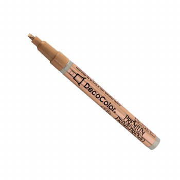 DecoColor Premium Paint Markers, 2mm Leafing Tip, Copper