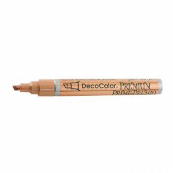 DecoColor Premium Paint Markers, Chisel Tip, Copper