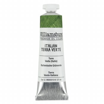 Williamsburg Oil Colors, 37ml, Italian Terra Verte