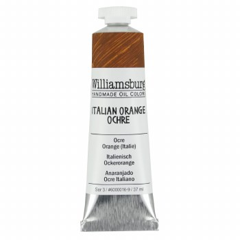 Williamsburg Oil Colors, 37ml, Italian Orange Ochre