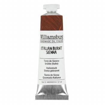 Williamsburg Oil Colors, 37ml, Italian Burnt Sienna