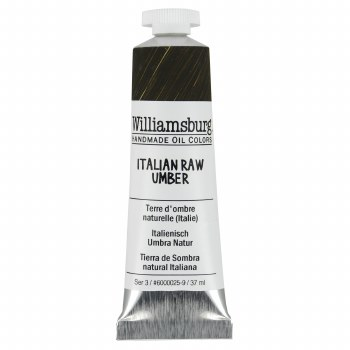Williamsburg Oil Colors, 37ml, Italian Raw Umber