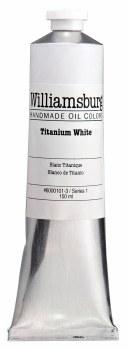 Williamsburg Oil Colors, 150ml, Titanium White