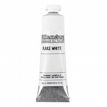 Williamsburg Oil Colors, 37ml, Flake White