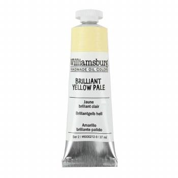 Williamsburg Oil Colors, 37ml, Brilliant Yellow Pale