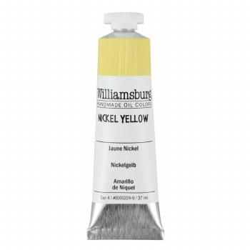 Williamsburg Oil Colors, 37ml, Nickel Yellow