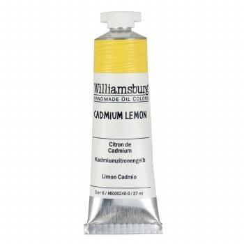 Williamsburg Oil Colors, 37ml, Cadmium Lemon