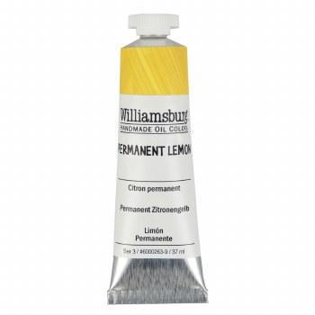 Williamsburg Oil Colors, 37ml, Permanent Lemon