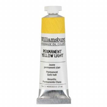 Williamsburg Oil Colors, 37ml, Permanent Yellow Light