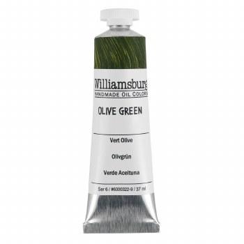 Williamsburg Oil Colors, 37ml, Olive Green