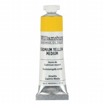 Williamsburg Oil Colors, 37ml, Cadmium Yellow Medium