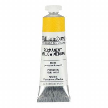 Williamsburg Oil Colors, 37ml, Permanent Yellow Medium
