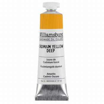 Williamsburg Oil Colors, 37ml, Cadmium Yellow Deep