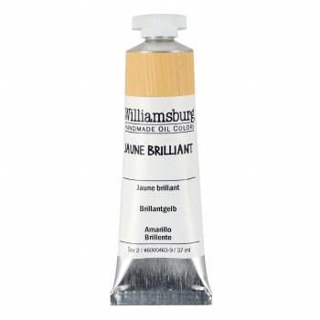 Williamsburg Oil Colors, 37ml, Jaune Brilliant