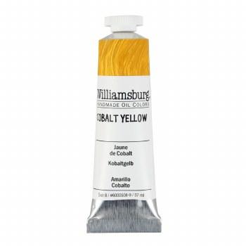 Williamsburg Oil Colors, 37ml, Cobalt Yellow
