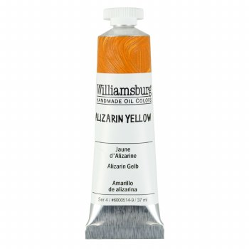 Williamsburg Oil Colors, 37ml, Alizarin Yellow