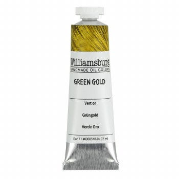 Williamsburg Oil Colors, 37ml, Green Gold