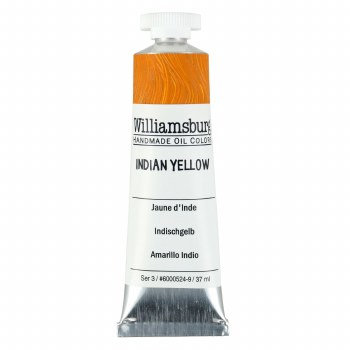 Williamsburg Oil Colors, 37ml, Indian Yellow