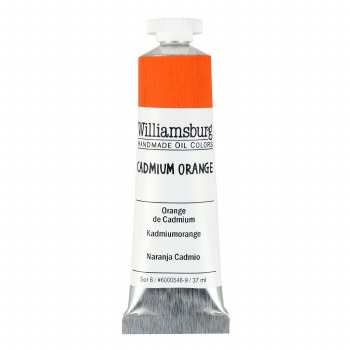 Williamsburg Oil Colors, 37ml, Cadmium Orange