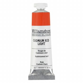 Williamsburg Oil Colors, 37ml, Cadmium Red Light
