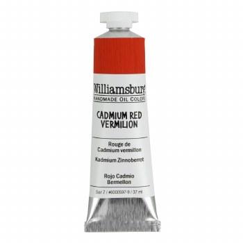 Williamsburg Oil Colors, 37ml, Cadmium Red Vermilion