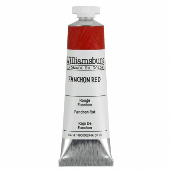 Williamsburg Oil Colors, 37ml, Fanchon Red