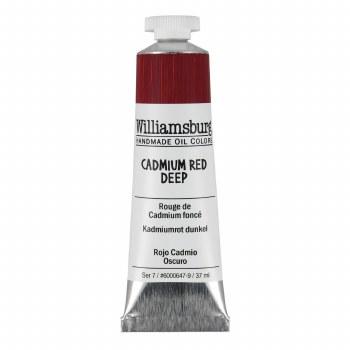 Williamsburg Oil Colors, 37ml, Cadmium Red Deep