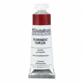 Williamsburg Oil Colors, 37ml, Permanent Crimson