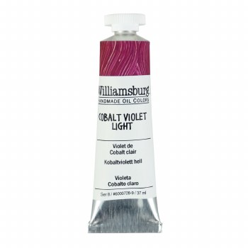 Williamsburg Oil Colors, 37ml, Cobalt Violet Light