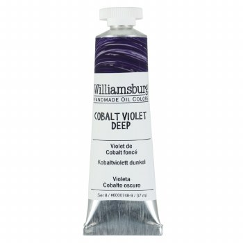 Williamsburg Oil Colors, 37ml, Cobalt Violet Deep