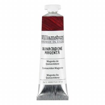 Williamsburg Oil Colors, 37ml, Quinacridone Magenta