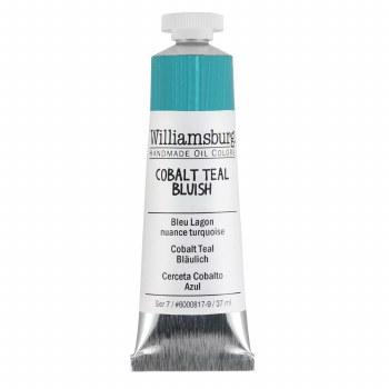 Williamsburg Oil Colors, 37ml, Cobalt Teal Bluish