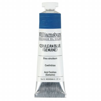 Williamsburg Oil Colors, 37ml, Cerulean Blue (Genuine)