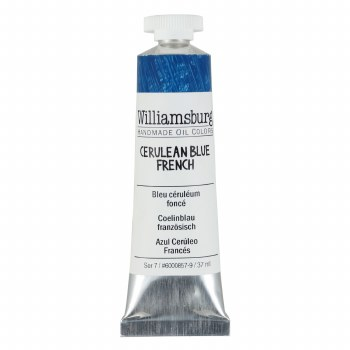 Williamsburg Oil Colors, 37ml, Cerulean Blue French