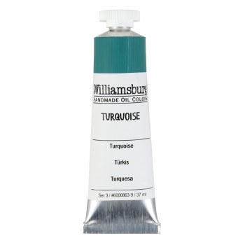 Williamsburg Oil Colors, 37ml, Turquoise
