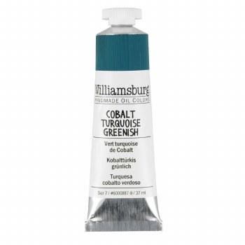 Williamsburg Oil Colors, 37ml, Cobalt Turquoise Greenish