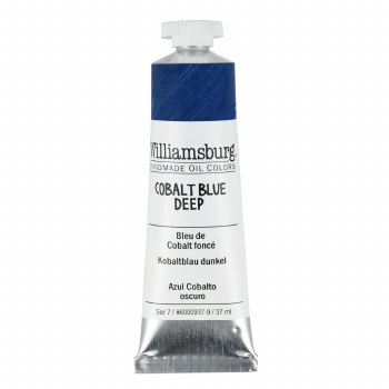 Williamsburg Oil Colors, 37ml, Cobalt Blue Deep