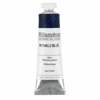 Williamsburg Oil Colors, 37ml, Phthalo Blue
